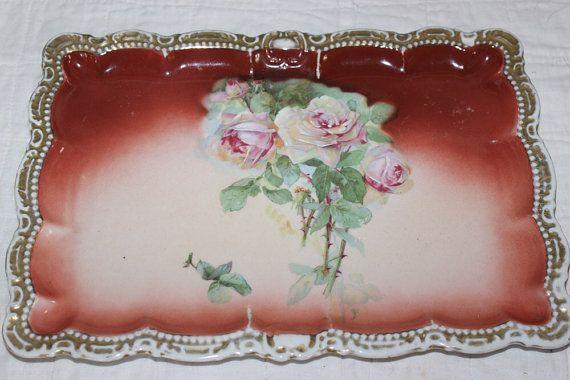 Bavaria Platter Antique Floral from Amelie's by AmeliesFarmhouse, $10.00
