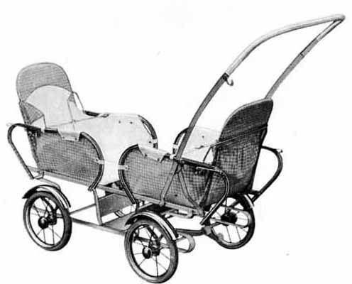 SVENSKTILLVERKADE BARNVAGNAR FRÅN 1960-TALET EMMALJUNGA 204  I 1967