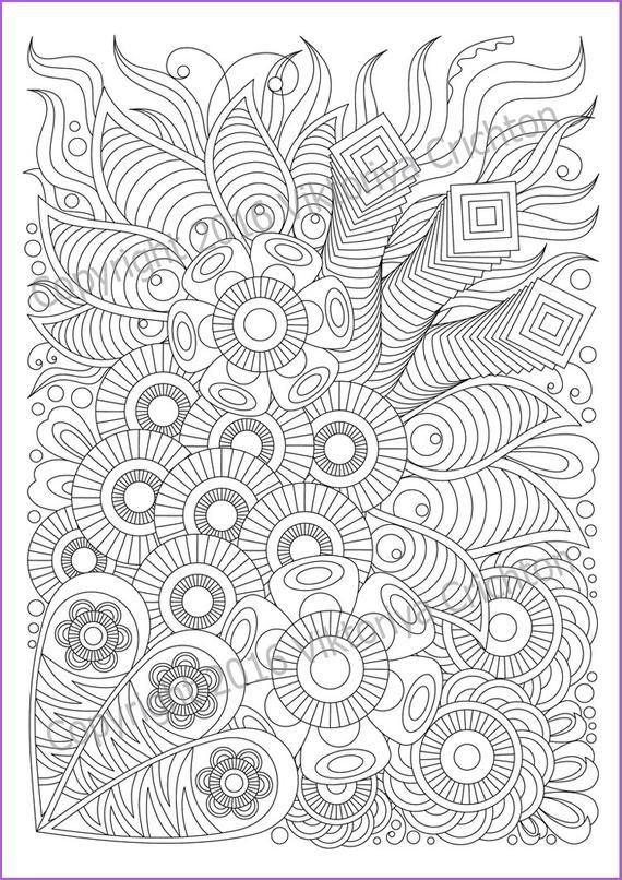 Pin By Anna Johnson On Disegni Di Mandala Da Colorare In 2020 Pattern Coloring Pages Cute Coloring Pages Zentangle Patterns