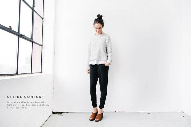 DRESS IT UP Don't be fooled by their name - these Dressy Sweatpants can take you from lounging at home and straight to the office or a night out. Their vers