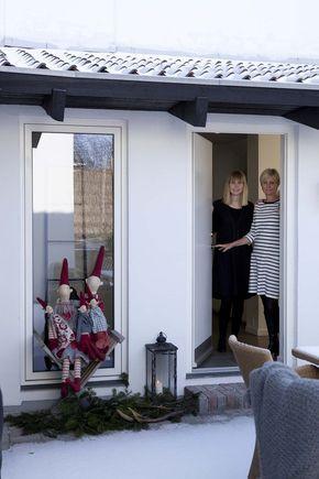 Decoración navideña en una casa de estilo nórdico en Copenhague. Una Navidad nórdica sencilla pero cargada de detalles originales.