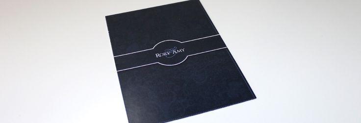 Formal Flourish Wedding Invitation & Stationery Design