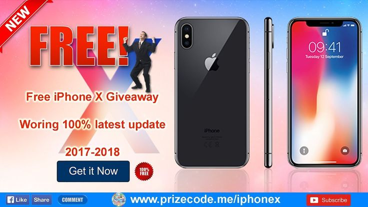 How to get free iPhone X | iPhone X Giveaway-Free iPhone 10 [Hurry up !!! out stock soon] - YouTube
