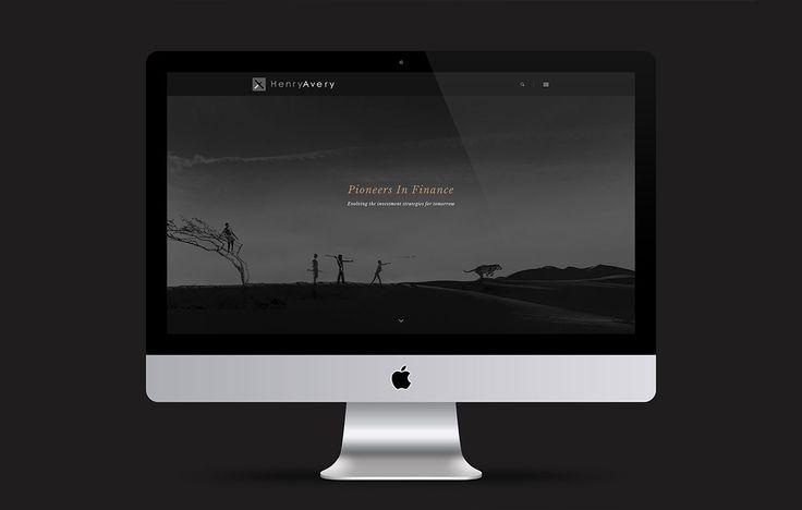 Logo, Branding, Print & Web Design for Henry Avery by Juno Creative | #madebyjuno