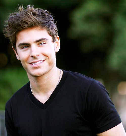 Zac Efron... I use to not think he was very cute but definitely a cutie in New Years Eve.