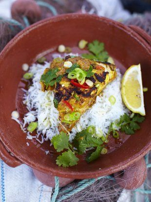 Coley Korma Recipe | Fish Recipes | Jamie Oliver Recipes