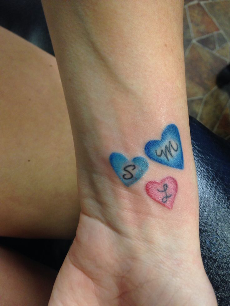 The 25 best wrist tattoos family ideas on pinterest for Wrist family tattoos