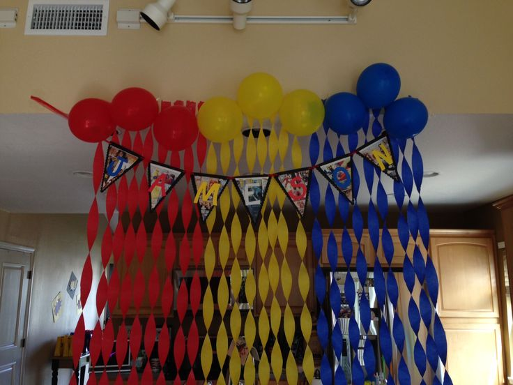 Best 25 super hero decorations ideas on pinterest for B day party decoration ideas