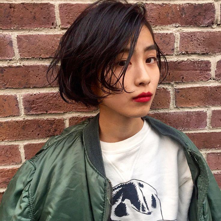 美人は「×化粧」でつくる!押さえておきたい黒髪メイクのポイント5つ   HAIR