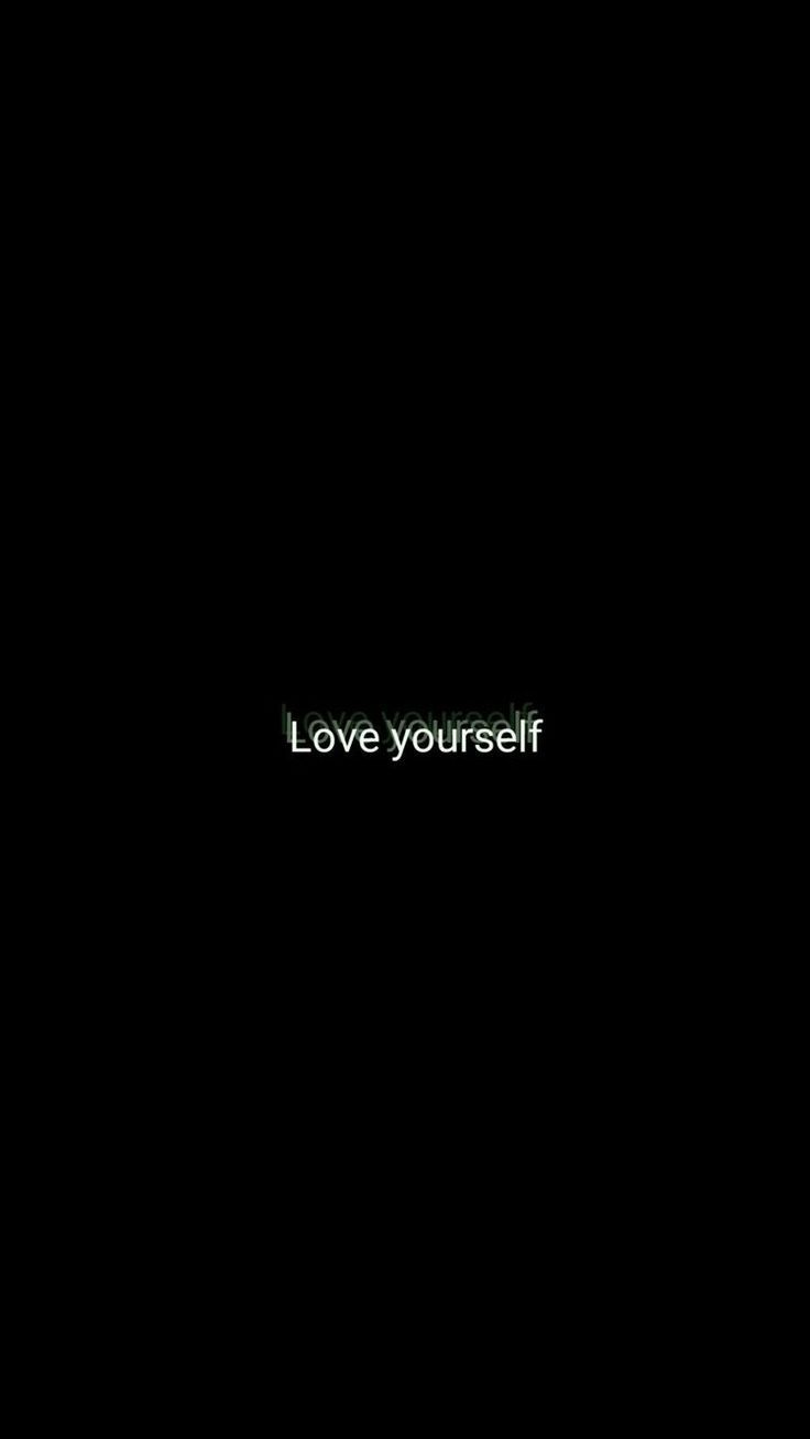 Love yourself | phone wallpaper