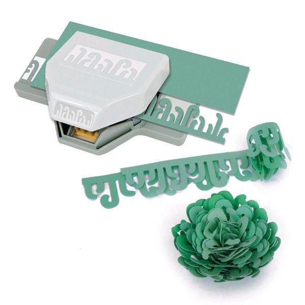NEW EK Success Paper Punch - DIMENSIONAL PARADISE FLOWER - Scrapbooking, Crafts