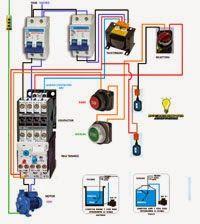 Esquemas eléctricos: Motor agua con marcha paro