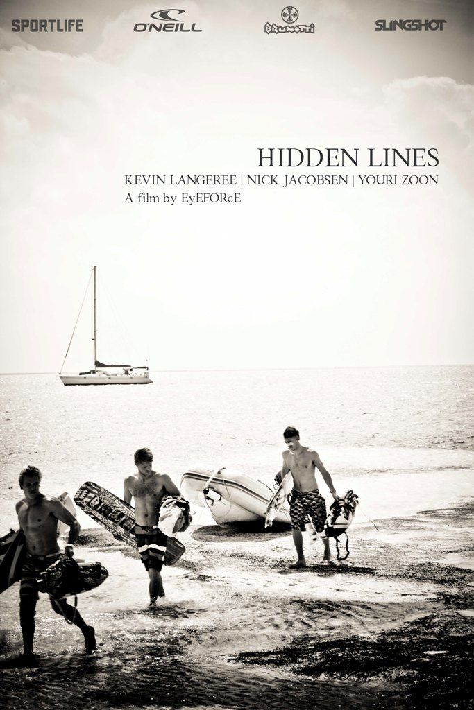Trailer Hidden Lines, a new movie project with pro kitesurfers Youri Zoon, Nick Jacobsen and Kevin Langeree