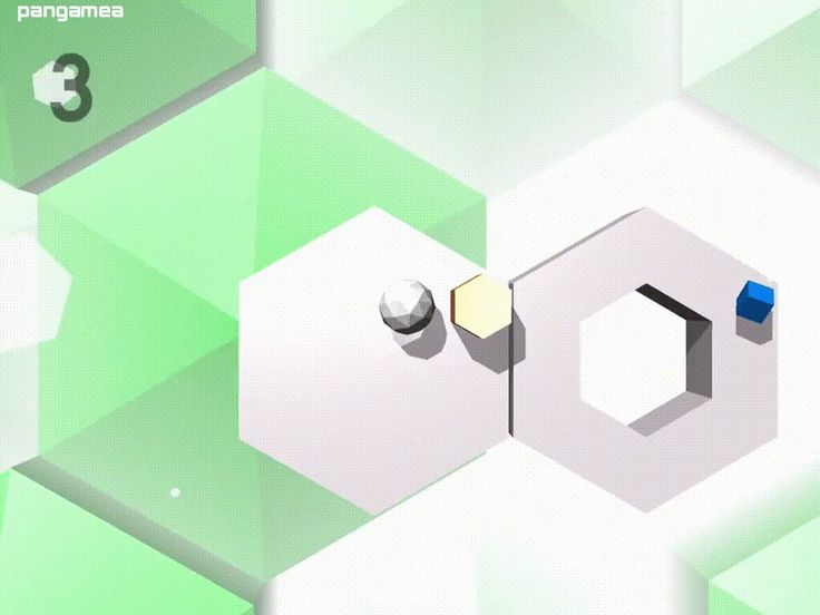 Tiltagon - Hopelessly try to control a ball by tilting your phone