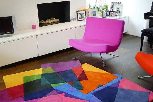 geometric decoration patterns in modern interior decorating