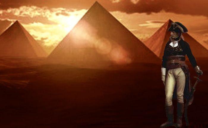 Napoleón pasó una noche dentro de la pirámide deKeops