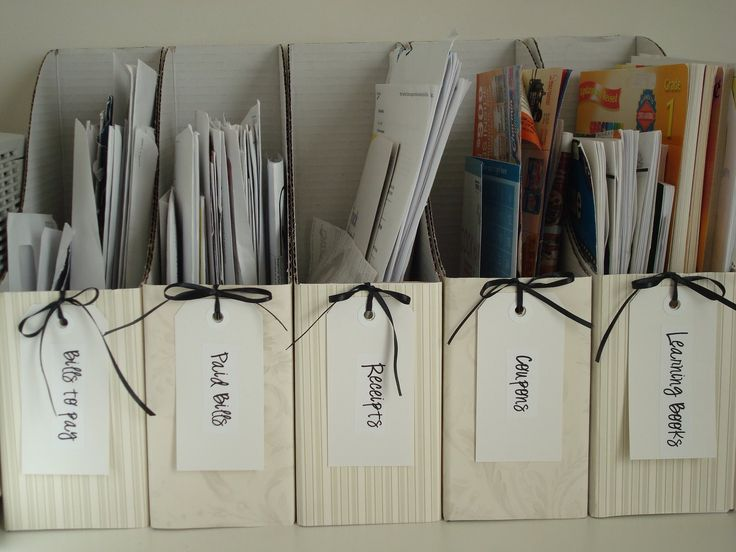 Homemaking Fun: Organization Idea