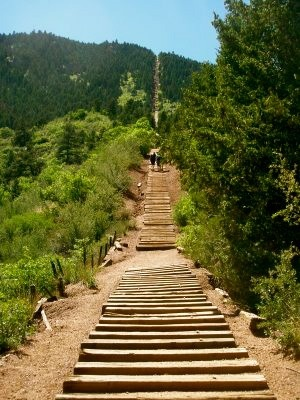 """You're missing out if you've never pushed your limits up """"The Incline"""" in Manitou/Colorado Springs! This is Completely intense and Fun! (Gonna do this...eventually)"""
