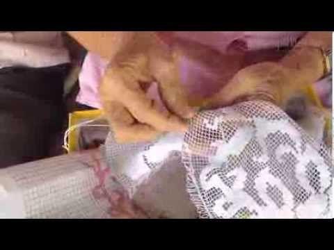Zurciendo en Pajita - Confección de una Enagua - YouTube