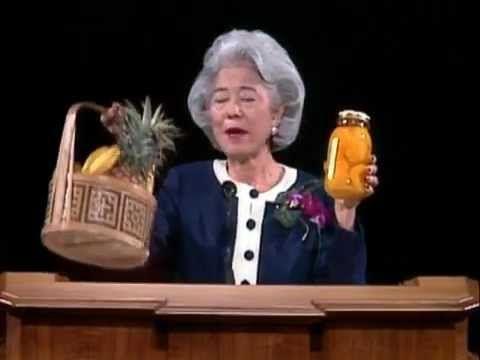 Baskets and Bottles - Chieko N. Okazaki - April 1996 General Conference