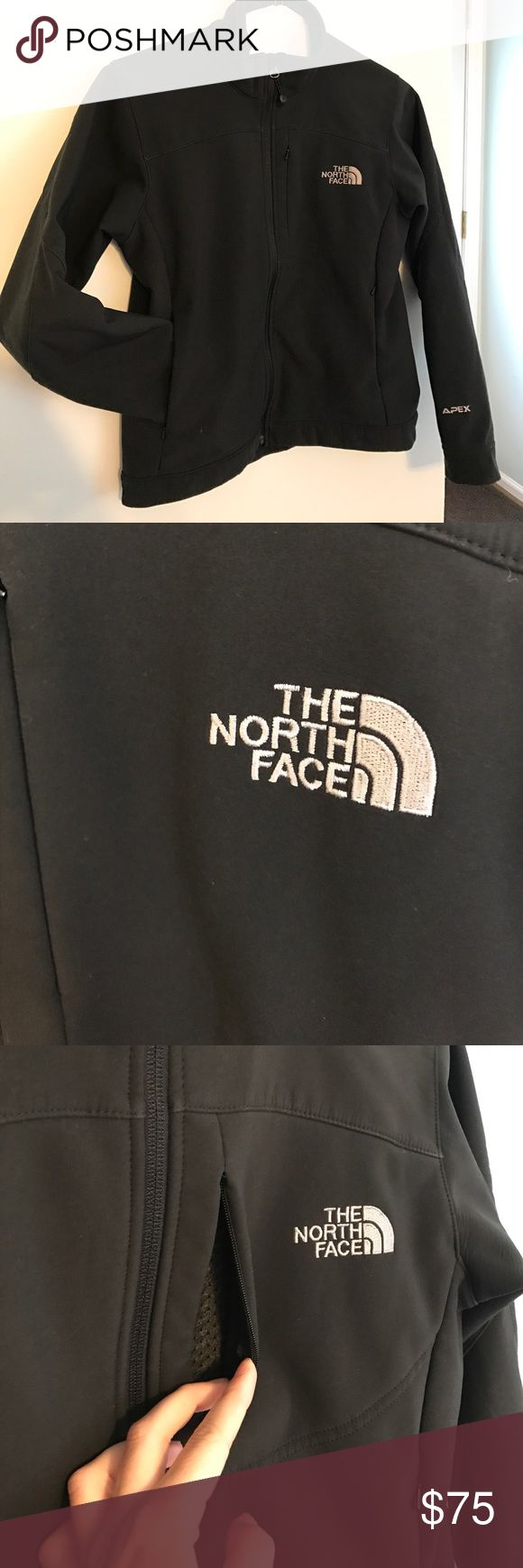 North Face Women's Apex coat Like new! True to size. Front and back North Face logo. 2 pockets and 1 chest pocket. Inside is fully lined. North Face Jackets & Coats