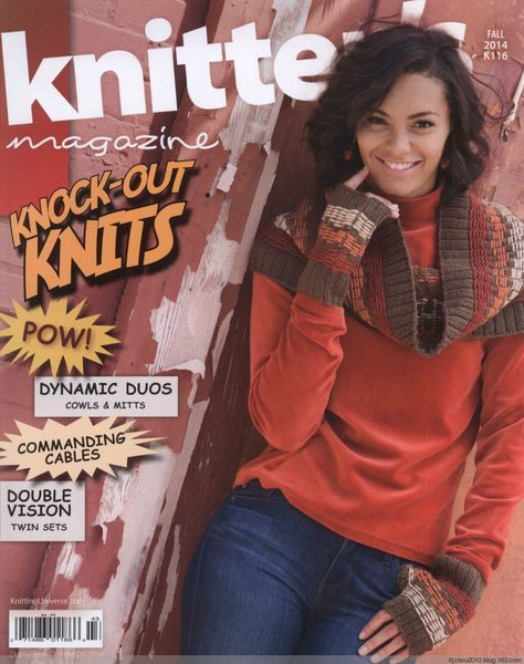 Knitters Magazine № 116 2014 秋 - 紫苏 - 紫苏的博客