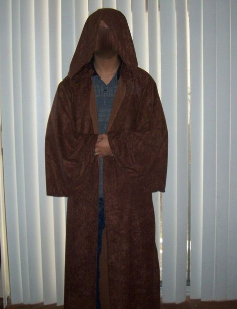 Picture of Sewing a Jedi or Harry Potter Robe or Cloak