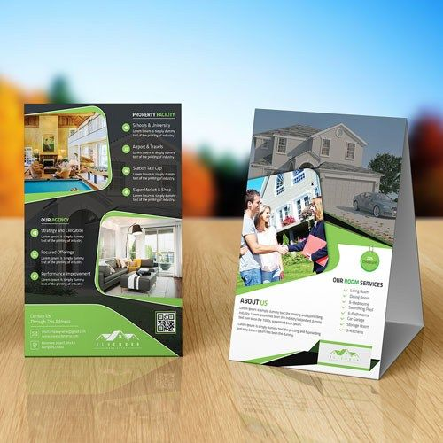 9 best Table Tent Printing images on Pinterest Printing services - table tent template