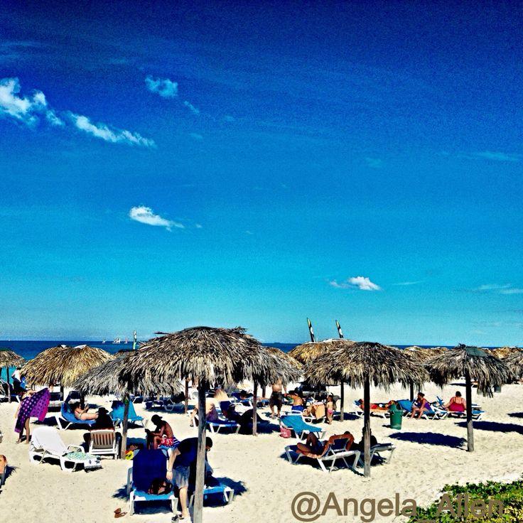On the beach at Memories in Varadero