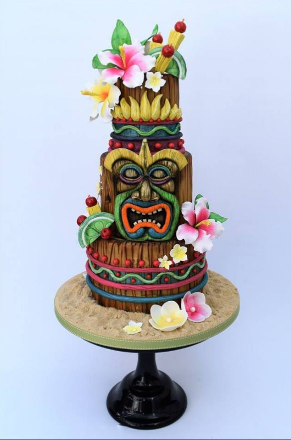 Enchanted Tiki Room Cake Disneycake Adventureland