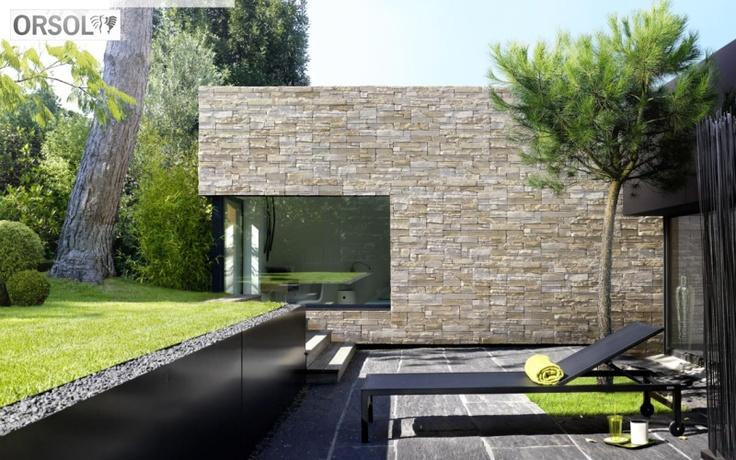le parement mural rocky mountain de orsol l 39 aspect brut. Black Bedroom Furniture Sets. Home Design Ideas
