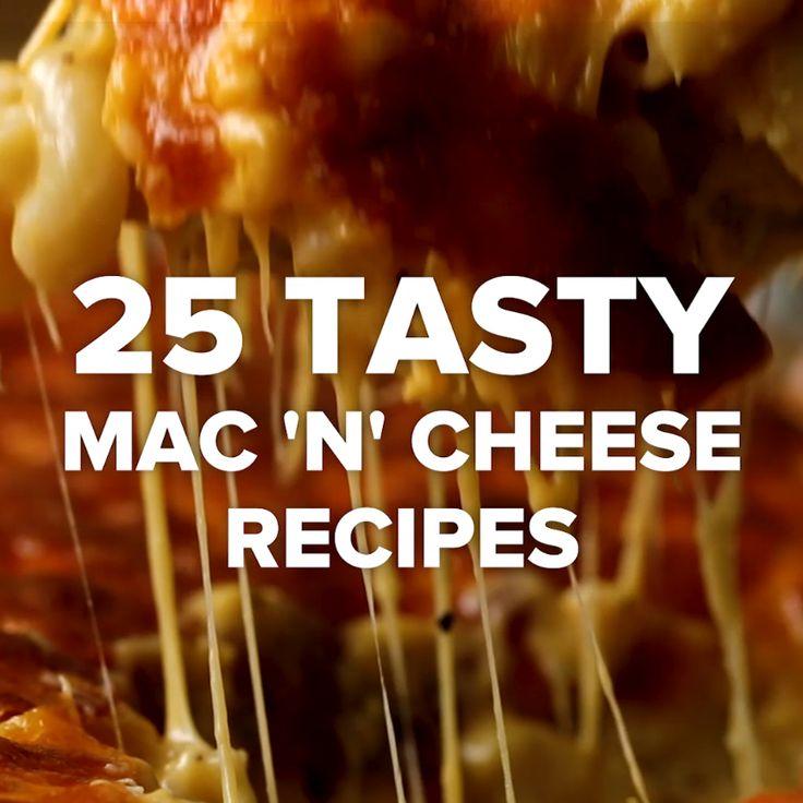 25 Tasty Mac 'N' Cheese Recipes