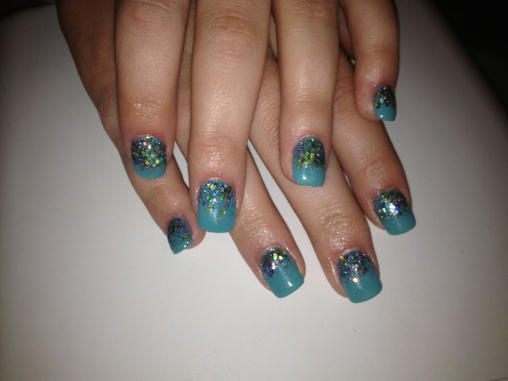 27 best nails images on pinterest nail art ideas accent nails teal prinsesfo Images