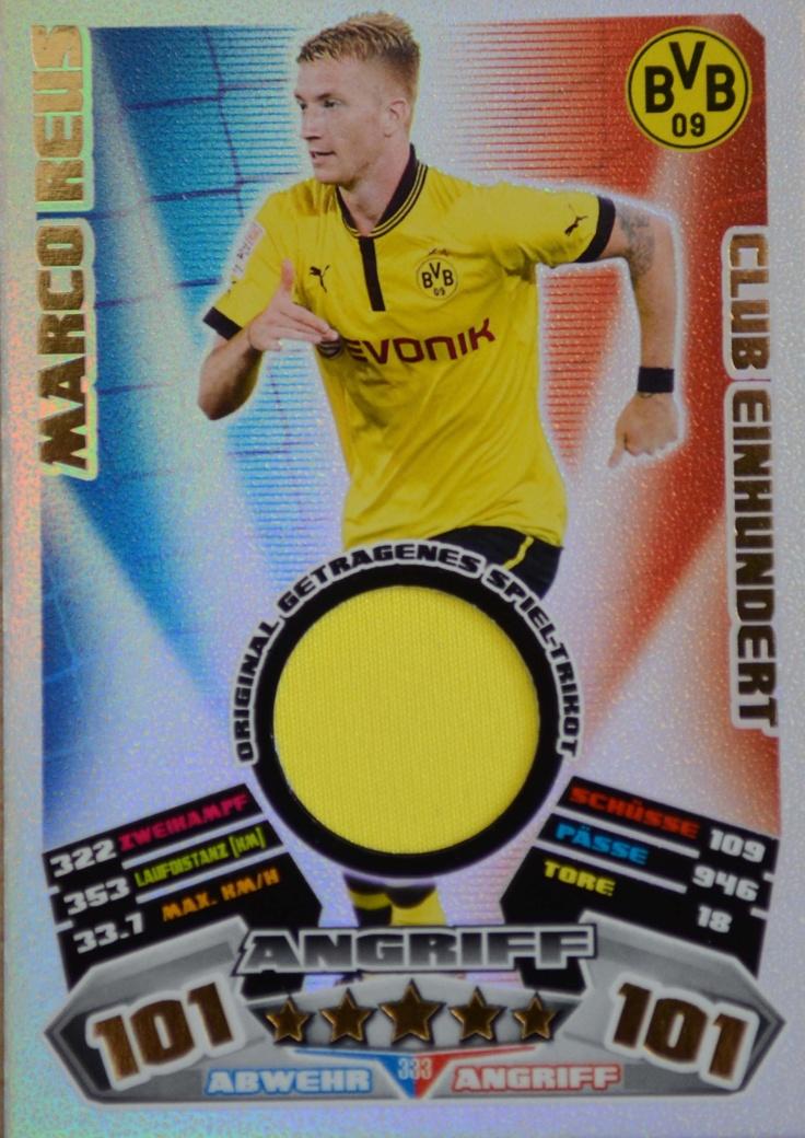 Marco Reus Trikot-Karte zu gewinnen! Match Attax Mega Gewinnspiel | Borussia Dortmund | Bundesliga | Fußball | BRAVOSport.de