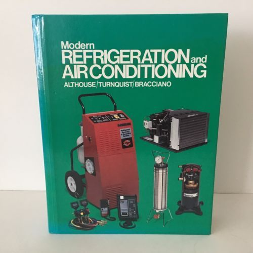 Modern-Refrigeration-and-Air-Conditioning-by-Althouse-1992-Hardcover-Textbook