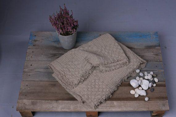 Linen Blanket Natural linen Linen Blanket by OldWallLinen on Etsy