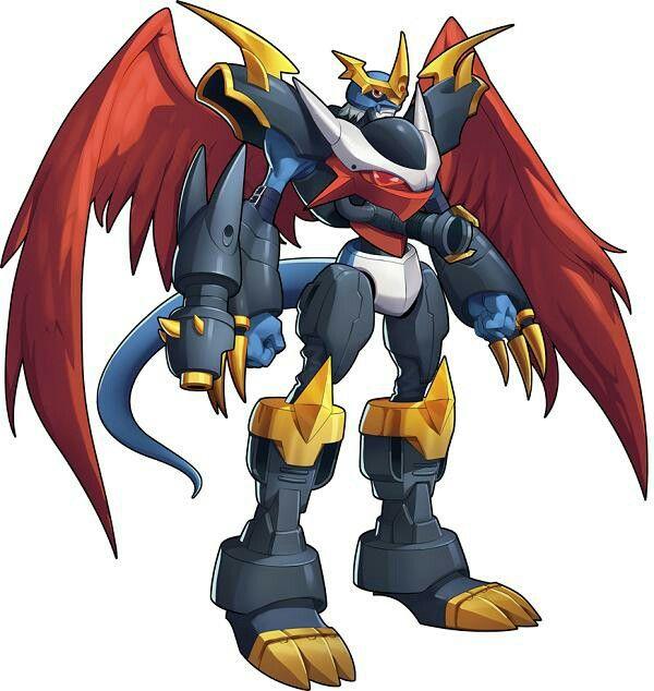 Imperialdramon | Digimon, Digimons, Pokemon