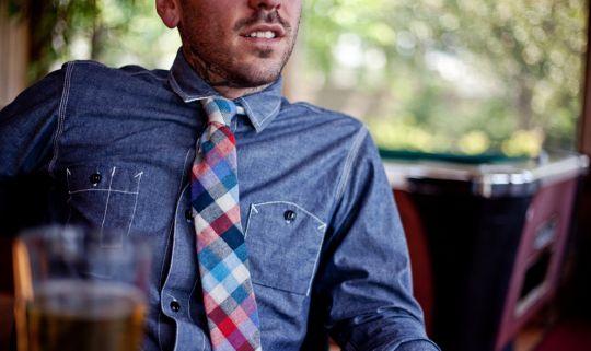 Stalward-ss12-03: Men Clothing, Plaid Ties, Fashion Style, Chambray Shirts, Men Style, Denim Shirts, Men Fashion, Red Plaid, Blue Red