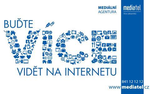Buďte na internetu více vidět. #Mediatelcz #Internet #Online