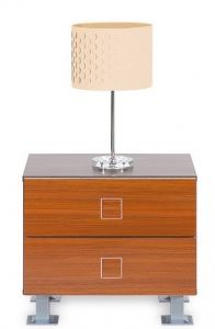 SIMONA BOGFRAN bedside cabinet. Compact bedside cabinet with two drawers. Fashionable color combination. Execution: high quality laminated board. Polish Bogfran Modern Furniture Store in London, United Kingdom #furniture #polish #bogfran #bedsidecabinet