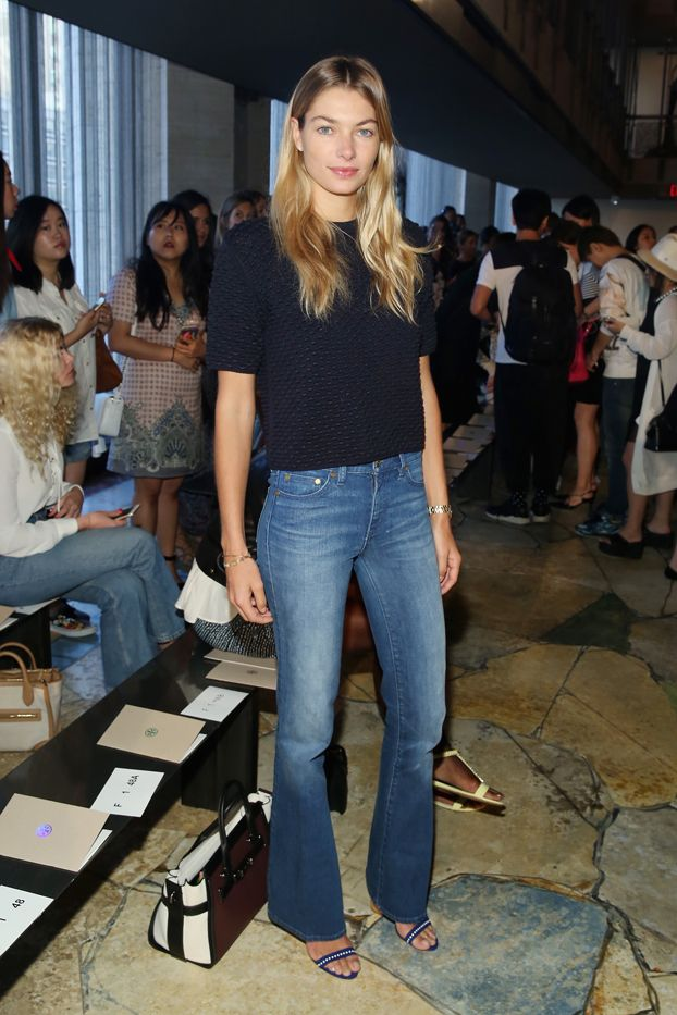 Celebrity Outfit Ideas Straight From New York Fashion Week via @WhoWhatWear