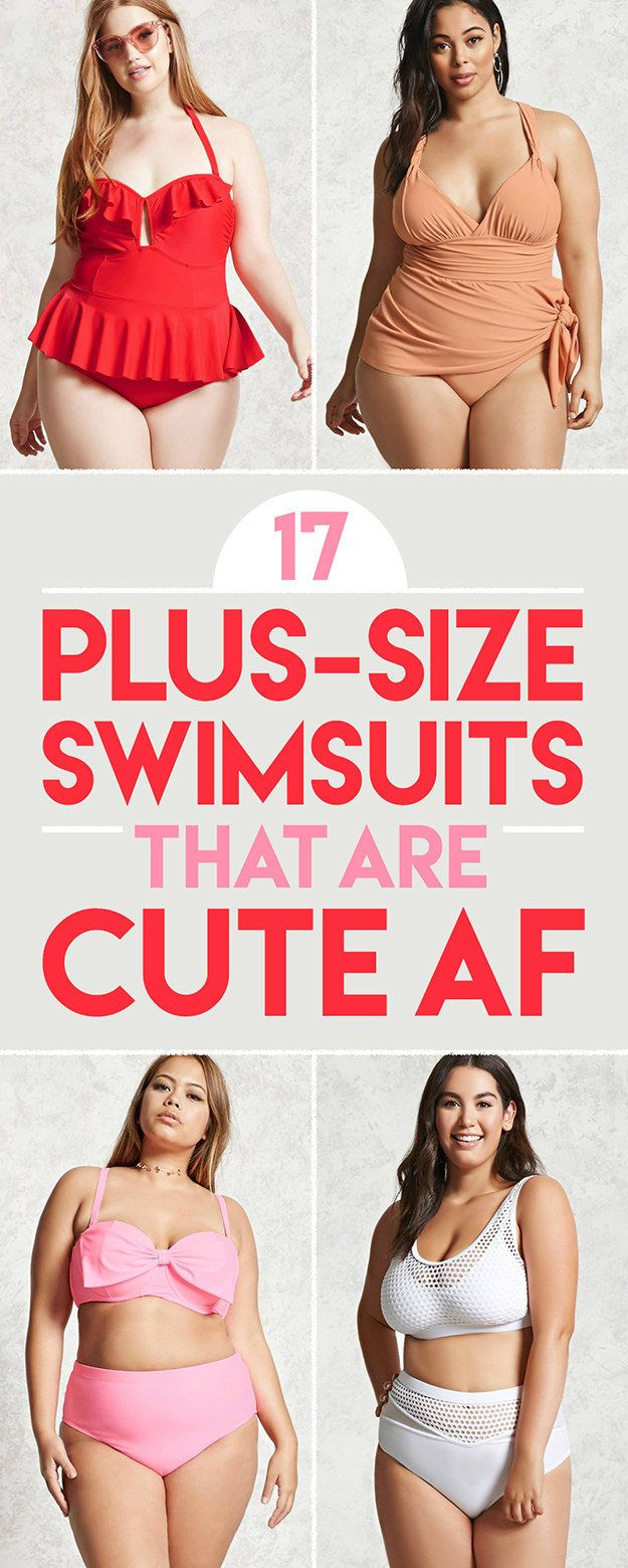 17 Plus-Size Swimsuits That Are Cute AF