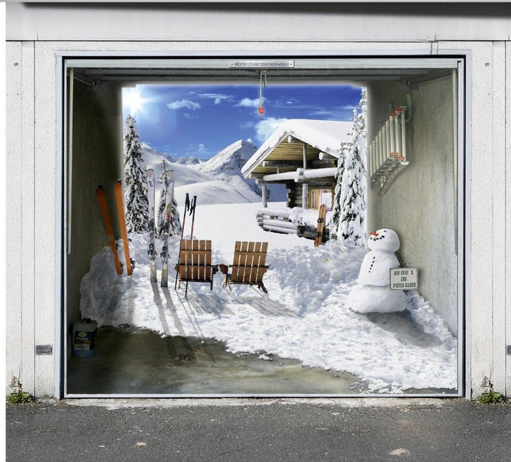 21 Best Images About Garage Door Art On Pinterest