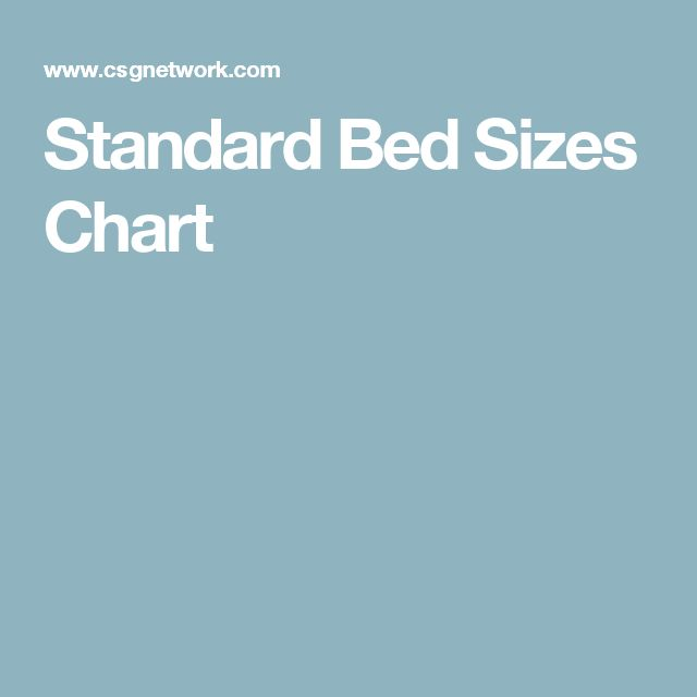 1000 ideas about bed size charts on pinterest bed sizes