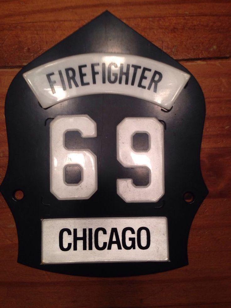 Chicago Fire Helmet Front