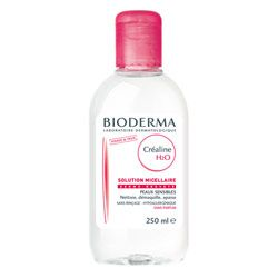 Bioderma Crealine H2O Cleanser & Make Up Remover 250.0 ml sensitive
