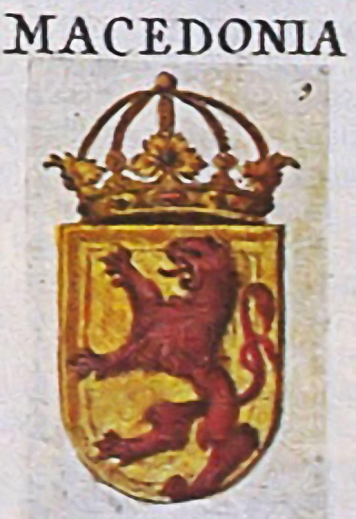 Macdoine Blason Au XVIe S Hraldique Blasons Avec