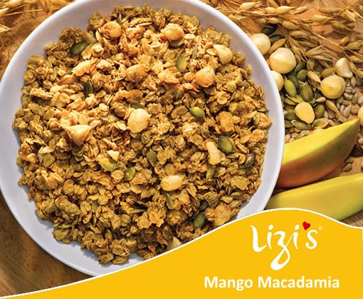 Lizi's Mango Macadamia Granola is my new crush...