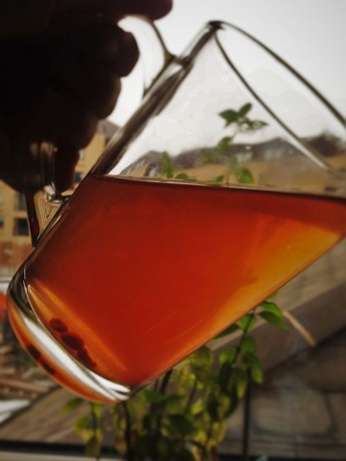 Purple Blush, Purple tea leaves by Williamson Tea Company, UK.