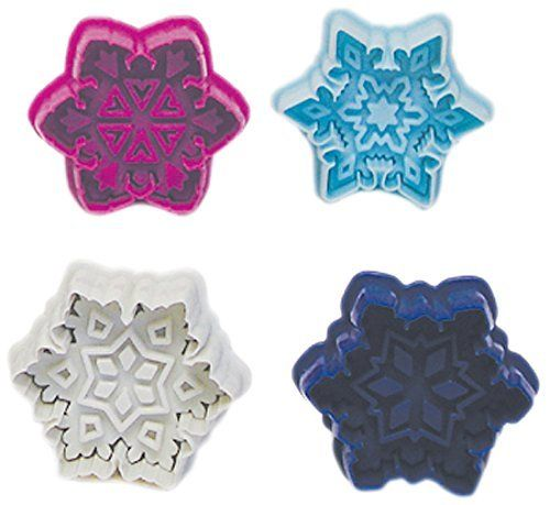 R & M International 490 Pastry/Cookie/Fondant Stamper, 3-Inch, Snowflake…